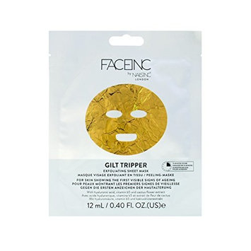 FACEinc By Nails Inc GILT TRIPPER Exfoliating Sheet Mask
