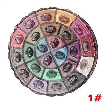 RNTOP Shimmer Glitter Nudes Brick Eye Shadow Powder Palette Matte Eyeshadow Cosmetic Makeup Kit