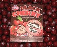 Dubble Bubble Black Cherry Gumballs, 1LB