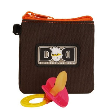 Diaper Dude Pacifier Pouch - Brown