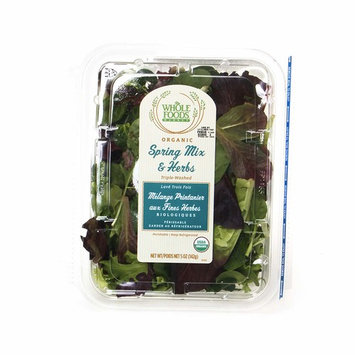 Whole Foods Market, Organic Spring Mix & Herbs, 5 oz