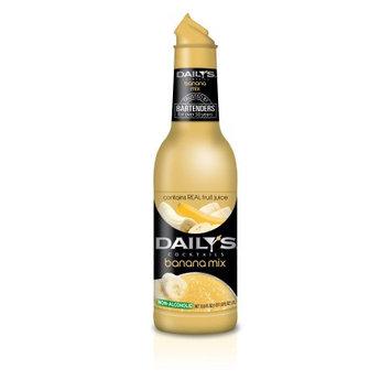 Daily's® Cocktails Non-Alcoholic Banana Mix 33.8 fl. oz. Bottle