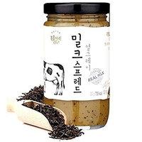 Bokumjari Premium Milk Spread Earl Gray Black Tea Leaves 230g (8.11 Ounce) Sweet Jam w/CP-1 Protein Hair Treatment 12.5ml