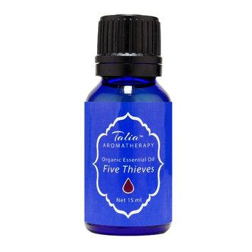 Organic Five Thieves Blend Essential Oil, Pesticide & Herbicide Free Talia Organics 15 ml Oil