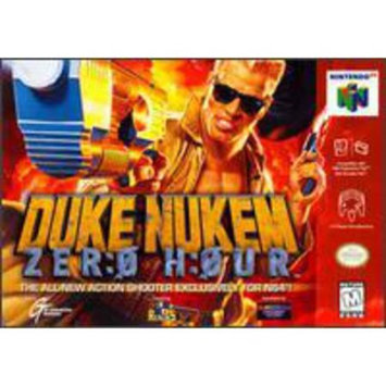 Atari Duke Nukem Zero Hour - Nintendo(Refurbished)