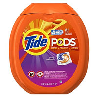 Tide PODS Spring Meadow HE Turbo Laundry Detergent Pacs 81-load Tub [Spring Meadow]