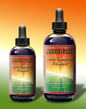 Super Conductive Vitamins Ambaya Gold 4 oz Liquid