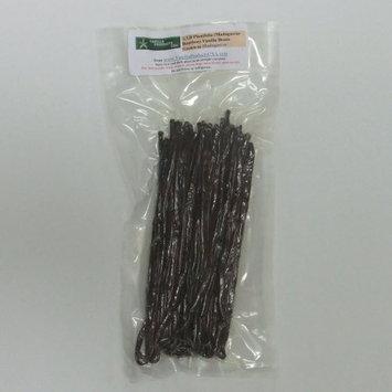 Vanilla Products USA 1/4 Pound LB Madagascar Bourbon Planifolia Extract Grade B Vanilla Beans 6~7