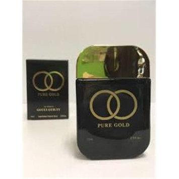 Secret Plus ZZWSPPUREGOLD25EDPSP 2.5 oz Pure Gold Eau De Parfum Spray for Women