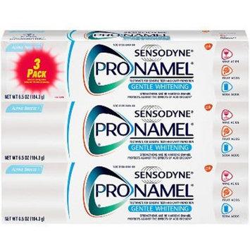 Sensodyne Pronamel Gentle Whitening Toothpaste for Sensitive Teeth, Alpine Breeze (6.5 oz, 3 pk.) ES
