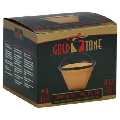 Goldtone Products Miles Kimball Permanent #4 Cone Filter