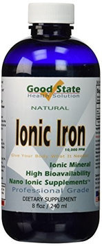 Good State Liquid Ionic Iron (60 Days At 18 mg Each)