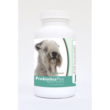 Healthy Breeds Pet Supplements 60 Soft Coated Wheaten Terrier Probiotic and Digestive Support Chewable Tablets for Dogs