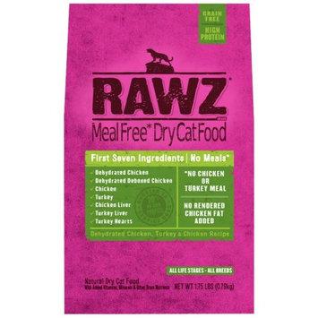 Rawz Natural Pet Food Chicken & Turkey Dry Cat Food, 1.75 Lb