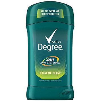 Degree Men Anti-Perspirant Deodorant Invisible Stick Extreme Blast 2.70 oz (9 Pack)