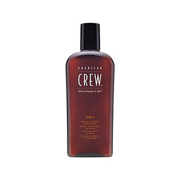 American Crew 3-In-1 (450ml) (Pack of 6)