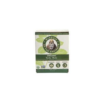 Wisdom of the Ancients Organic Yerba Maté Tea Bags, 1.1 Ounce