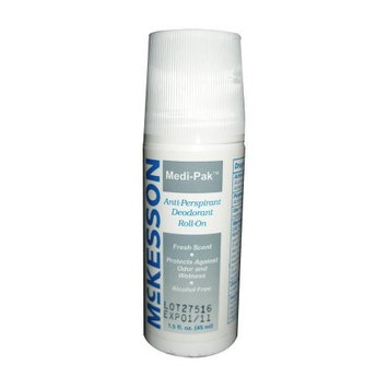 Medi-Pak Roll-On Deodorant 1.5 Ounce Fresh Scent - Case of 96
