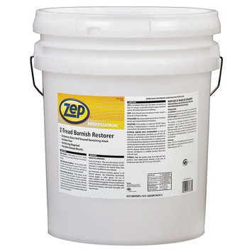Zep Professional R03835 GreenLink Z-Tread Burnish Restorer, Mild Detergent Fragrance, Clear (Pail of 5 Gallons)