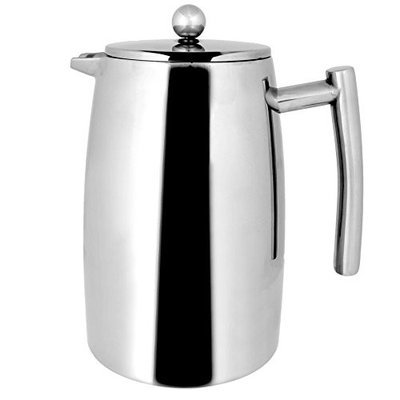 FRA5245 Francois et Mimi 50-Ounce Stainless Steel Double Wall French Coffee Press, Large