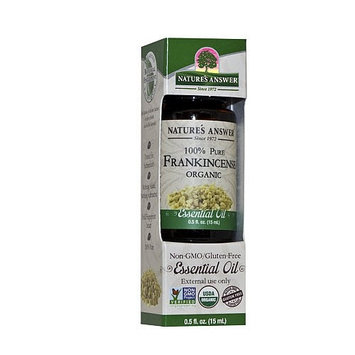 Frankincense Essential Oil - Highest Quality 100% Organic Therapeutic Grade - 100% Pure and Natural Premium Select by Nature's Answer [Frankincence]