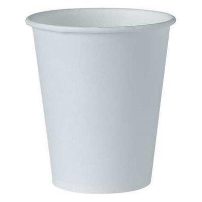 new Solo Paper Water Cup, 4 oz, White, 100/Pack