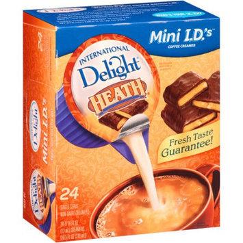 International Delights International Delight Non-Dairy Creamer, Heath, Box Of 24 Packets