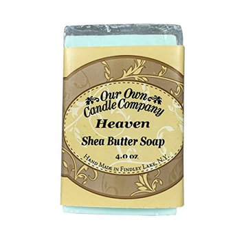 Our Own Candle Company Shea Butter Bar Soap, Heaven, 4 oz (3 Pack)