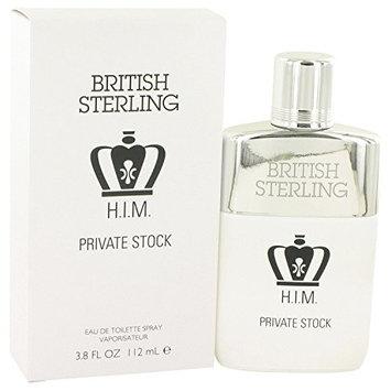 British Sterling Him Private Stock By Dana 3.8 oz Eau De Toilette Spray for Men