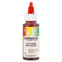 Chefmaster by US Cake Supply 2.3-Ounce Tulip Red Liqua-Gel Cake Food Coloring
