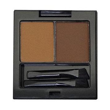 City Color E-0007-2 Eyebrow 3 Shade Matte Powder with Brush - Medium
