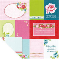 Kaisercraft 272129 Miss Nelly Double-Sided Paper 12 in. x 12 in. -Her Habits-Fits BTP Photo Display0