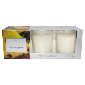 Votive Candle Gift Set Pina Verbena 3ct - Home Scents by Chesapeake Bay Candle®