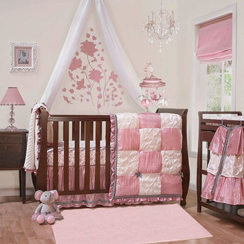 Bella 6 Piece Baby Crib Bedding Set by The Peanut Shell
