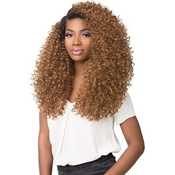 SENSATIONNEL 100% PREMIUM FIBER EMPRESS EDGE 3-WAY FREE PARTING BOUTIQUE BUNDLES SERIES LACE FRONT WIG - TWIST