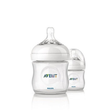 Philips Avent NEW Natural Baby Feeding Bottle 125ml Twin 2 Pack Scf690/27 4oz Best Quality Original From United Kingdom Fast Shipping