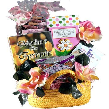 Sweetest Mom Tea and Cookie Gift Basket Set