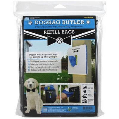 Doggie Walk Bags dogbag Butler - Refills - 2 pk x 70 ct