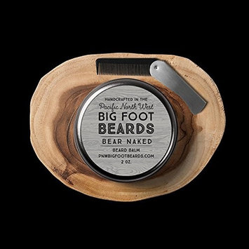 Bigfoot Beards Bear Naked Beard Balm