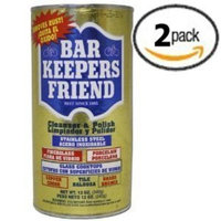 Bar Keepers Friend Powdered Cleanser & Polish   12-Ounces   2-Pack