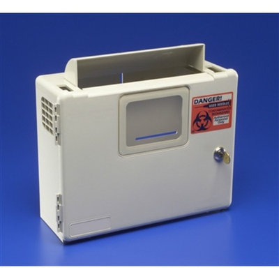 Sharps Container Wall Mount Enclosure, SharpSafety In-Room , Sharps Box Only, 85161H - Each
