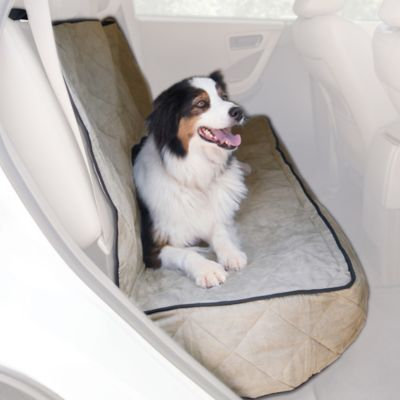 K & H Pet Products Quilted Car Seat Cover Tan 54