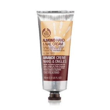 THE BODY SHOP Almond Hand and Nail Cream 3.3 oz. for all skin types 100 ml