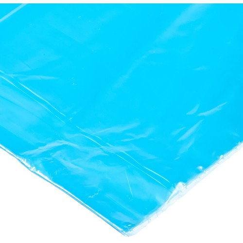"Aluf Plastics 40-45 Gallon Blue Trash Bags - Pack of 100 - Garbage or Recycling Bags 55"" by 38"" 1.2 (Equivalent) MIL - for Industrial, Home, Contractor"