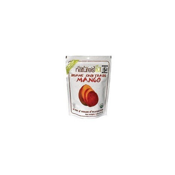 Nature's All Foods Free Trade Freeze Dried Raw Mango (6x1.2 Oz)