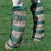 Kensington Fly Boots X-Large Red Plaid