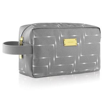GAGAKU Travel Toiletry Bag Waterproof Shaving Dopp Kit Cosmetic Organizer Wash Bag for Men and Women - Gray