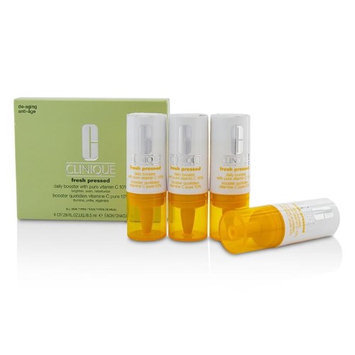 Clinique Fresh Pressed Daily Booster with Pure Vitamin C 10% - All Skin Types 4x8.5ml/0.29oz