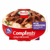 Hormel Compleats Beef Tips & Gravy with Mashed Potatoes, 10 oz