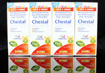 Boiron Children's Chestal Cold & Cough Syrup - 6.7 oz bottles (Pack of 4)